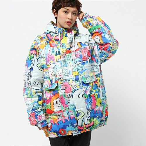 galaxxxy 8words Wall Paint jacket