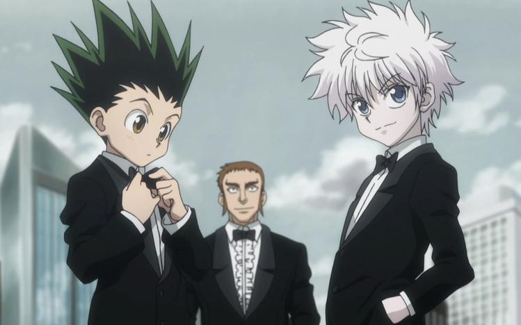hunter x hunter anime visual