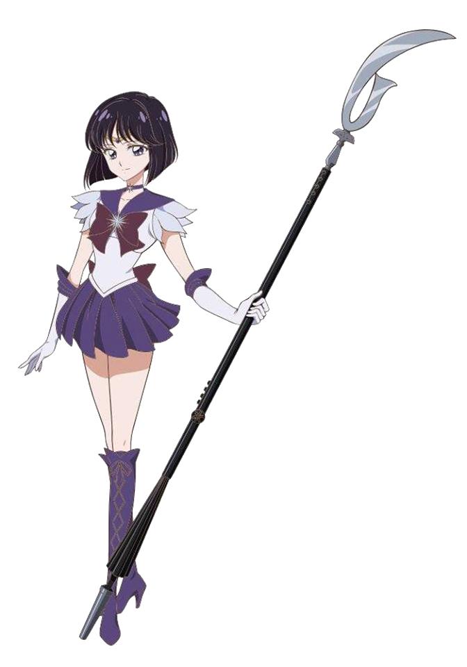 Hotaru Tomoe Sailor Saturn