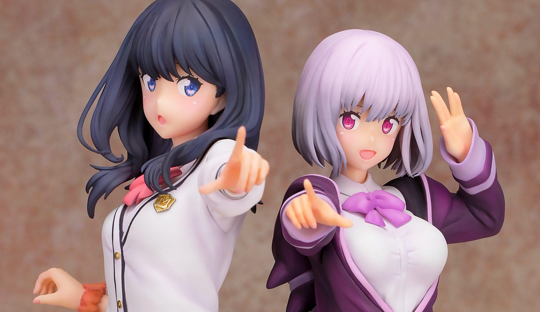 Rikka Takarada and Akane Shinjo