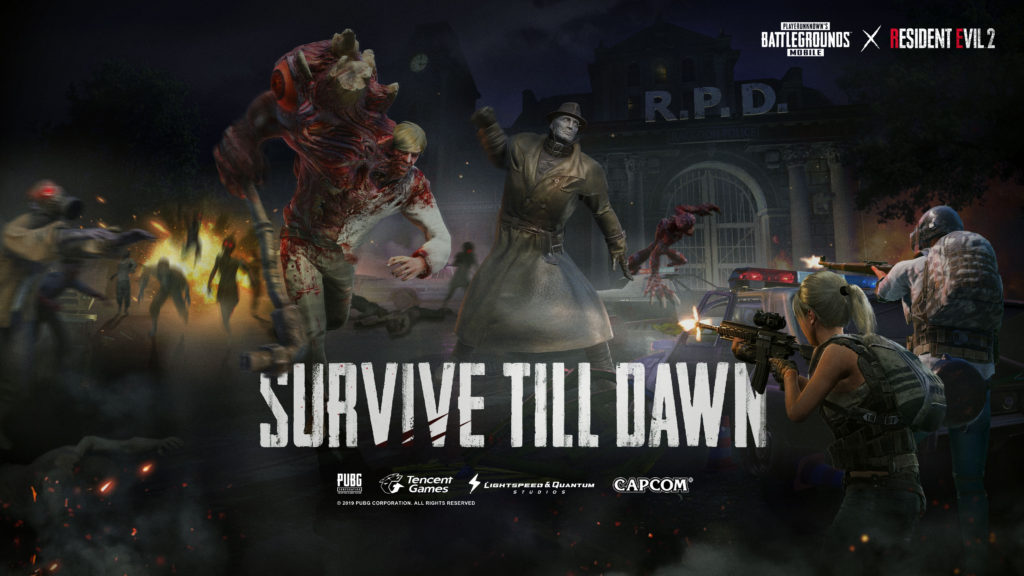 PUBG Mobile and Resident Evil 2 Collide for New Collaborative Event