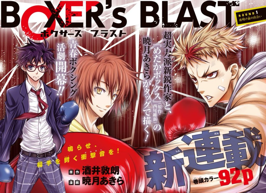 BOXER'S BLAST color page