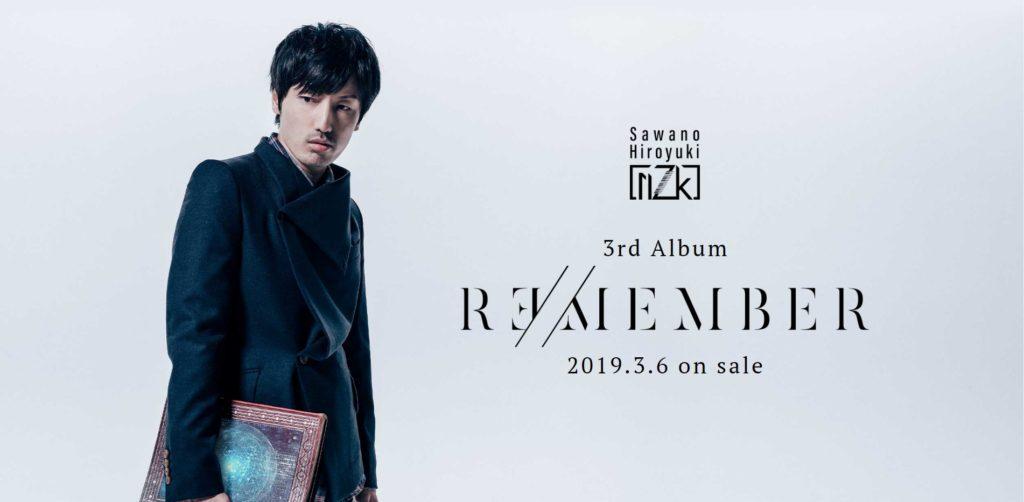 Hiroyuki Sawano Unveils New Tracks on his Third nZk Vocal Project Album R∃/MEMBER