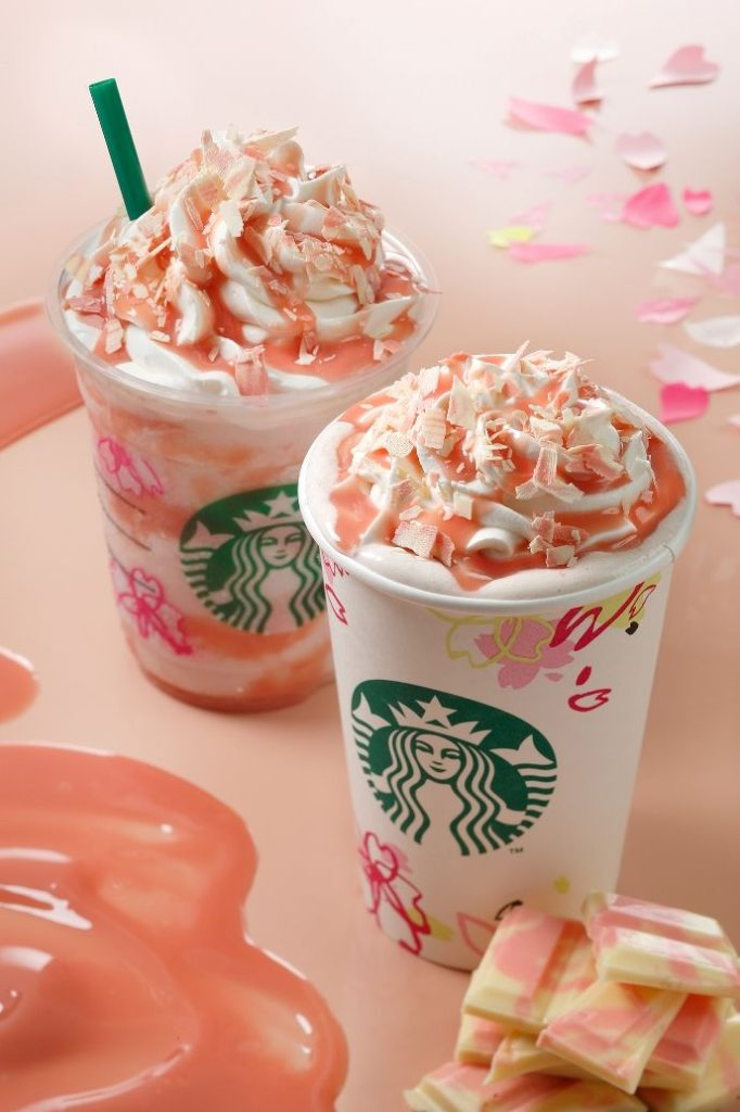 Starbucks Japan Delivers With A Pair of Spring Floral Bliss in Their Sakura Lineup