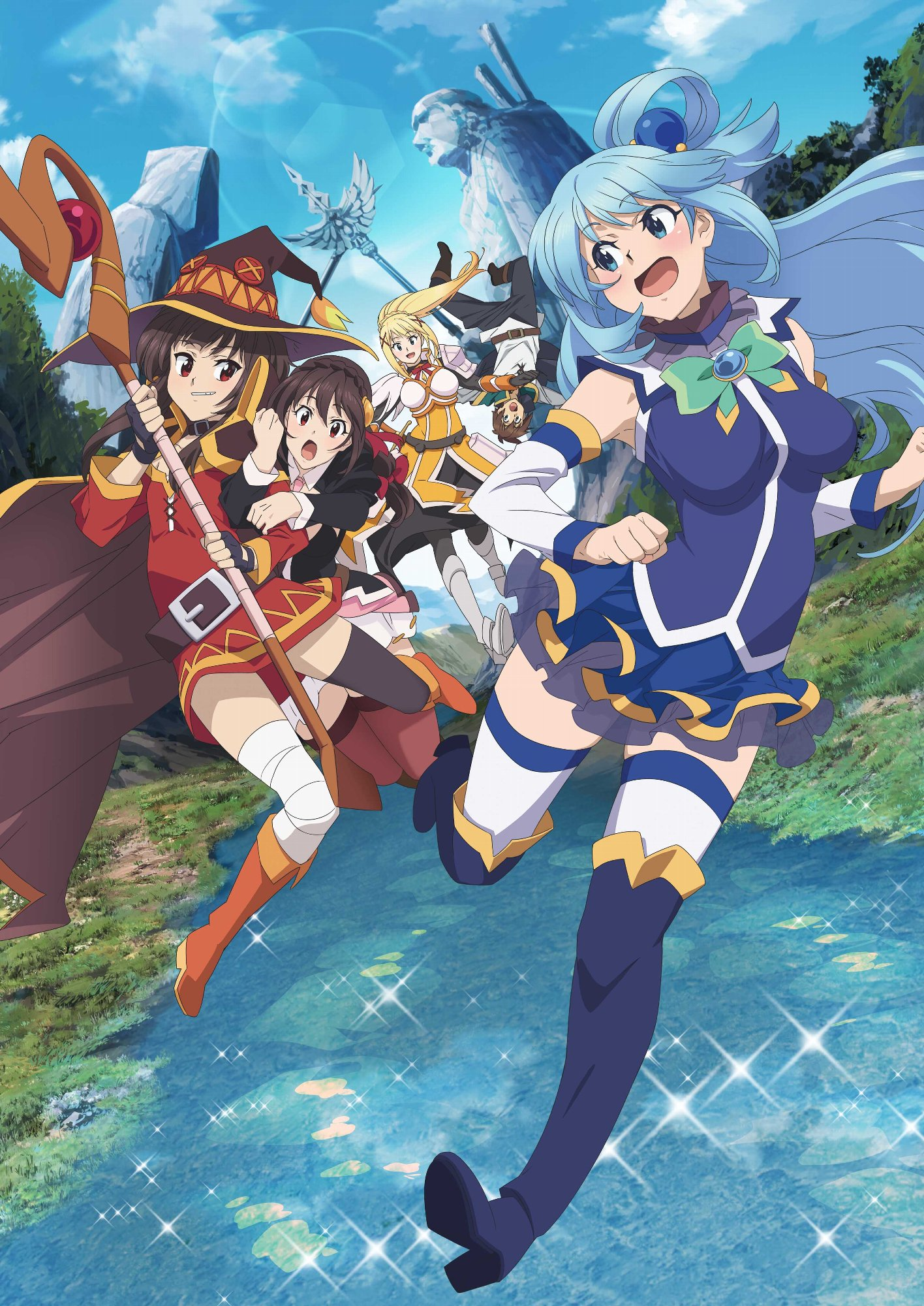 """First Full-Length Trailer for """"KONOSUBA"""" Movie Revealed As the Cast Competed in a Game Show at AnimeJapan"""