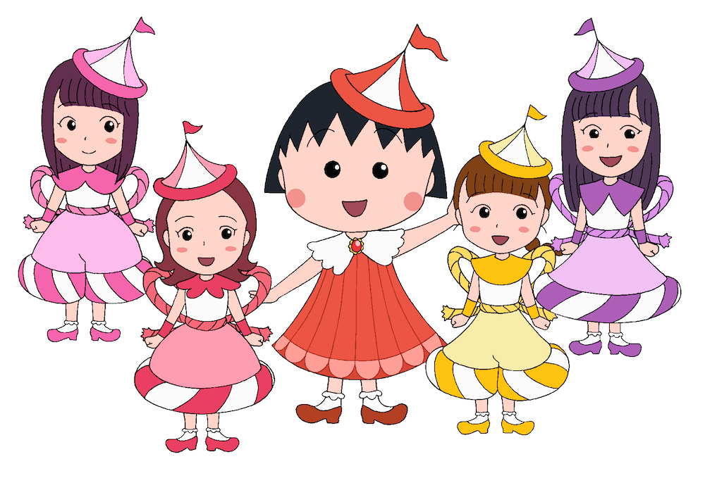 Idol Group Momoiro Clover Z to Perform Theme Song for Chibi Maruko-Chan for 30th Anniversary