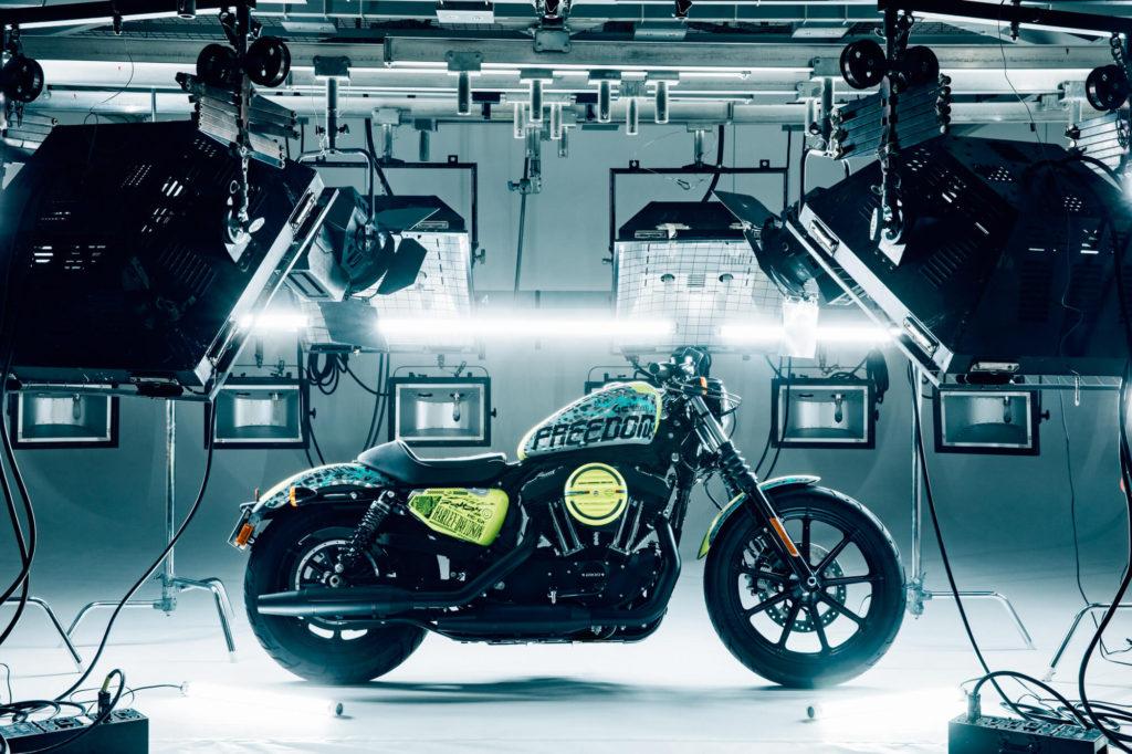 Design for GraphersRock Collaborative Harley-Davidson Motorcycle Revealed