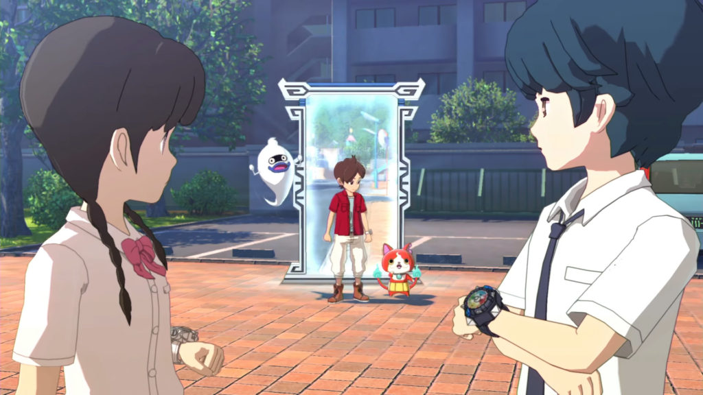 Worlds Collide in Yo-Kai Watch 4's Opening Movie