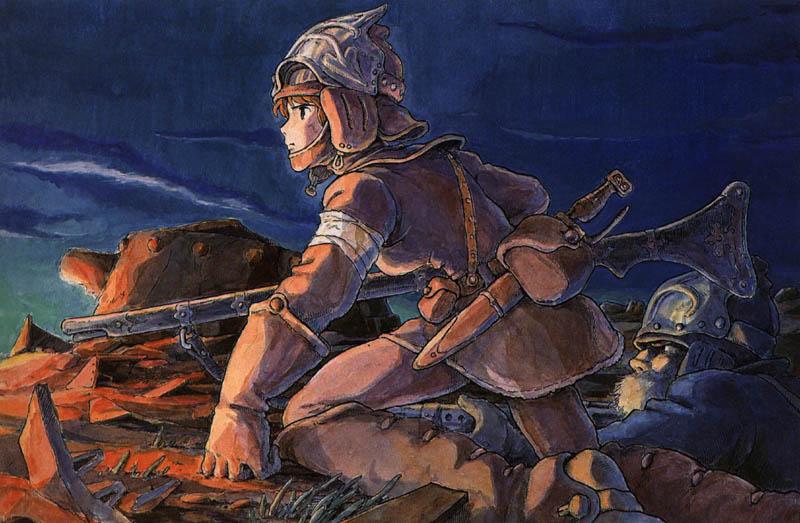 Nausicaä goes to war