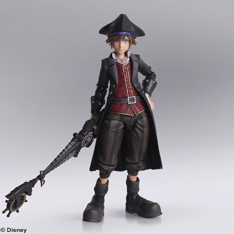 Kingdom Hearts 3 Sora, Kairi, Axel, Final Fantasy IX Bring Arts Figures Previewed
