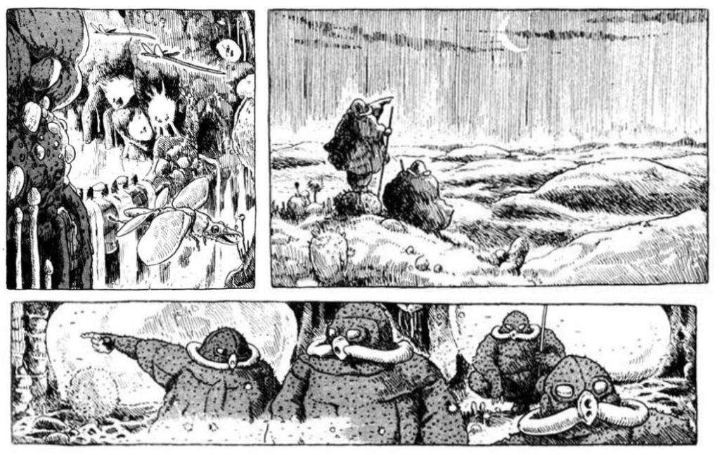 Nausicaä of the Valley of the Wind manga
