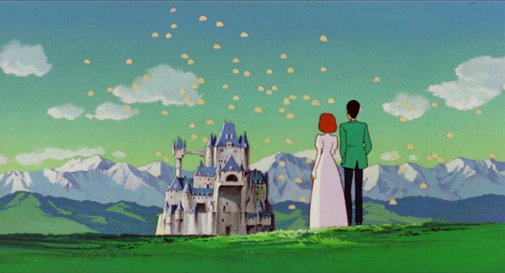 Lupin III The Castle of Cagliostro Anime Visual