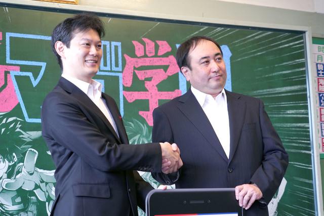 Kurita Hirotoshi and Nakano Hiroyuki