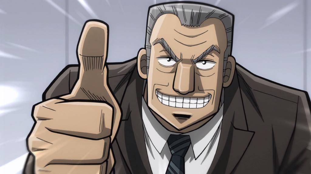 Mr. Tonegawa from Kaiji