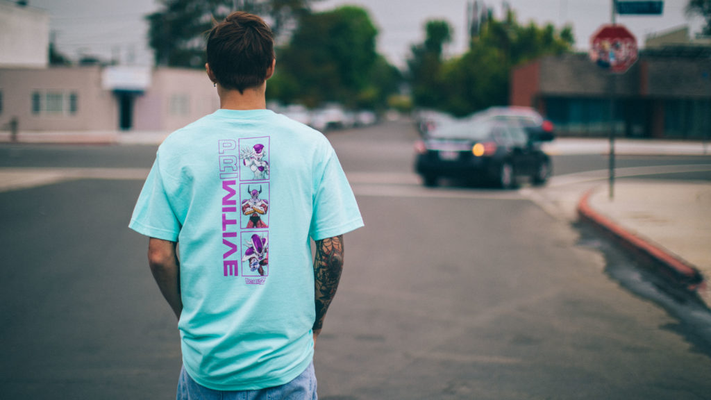 Primative Skate Drops New Dragonball Collab Combining Fashionable Clothing with Skateboarding