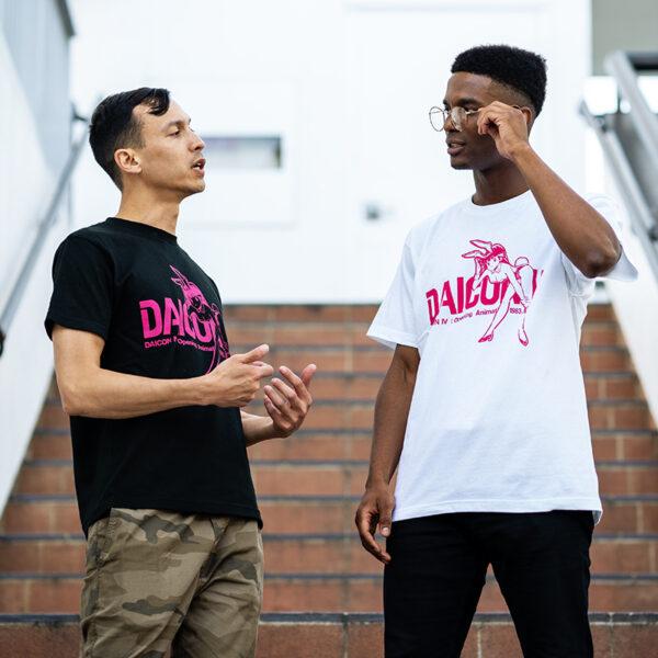Models Wearing DAICONIV Shirts