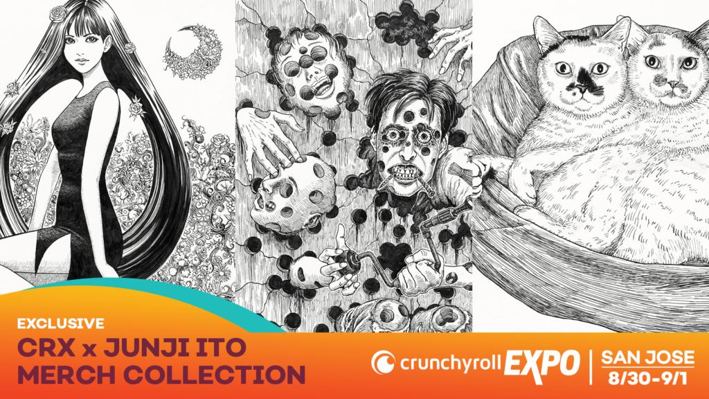 CRX x Junji Ito Collab Dropping At Crunchyroll Expo