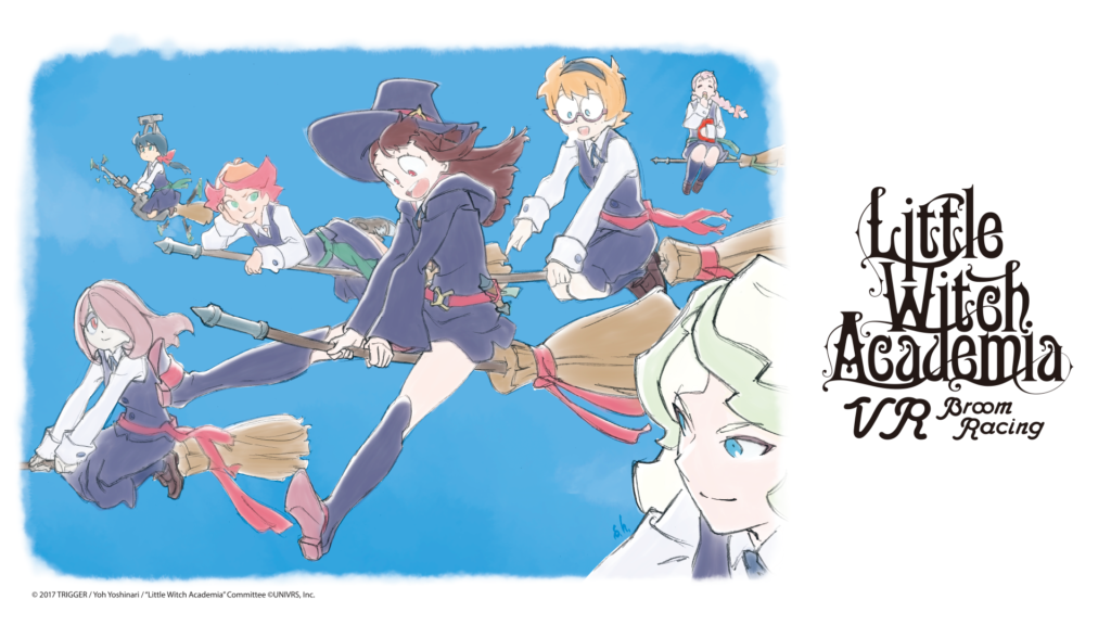 Little Witch Academia - VR Broom Racing - Announced, Showcase at Anime Expo 2019