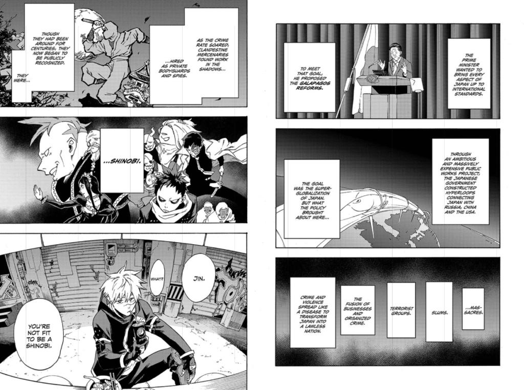 Tokyo Shinobi Squad's super-globalization