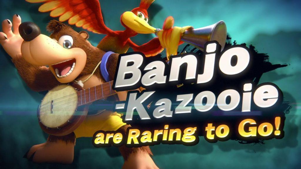 SSBU Banjo-Kazooie reveal