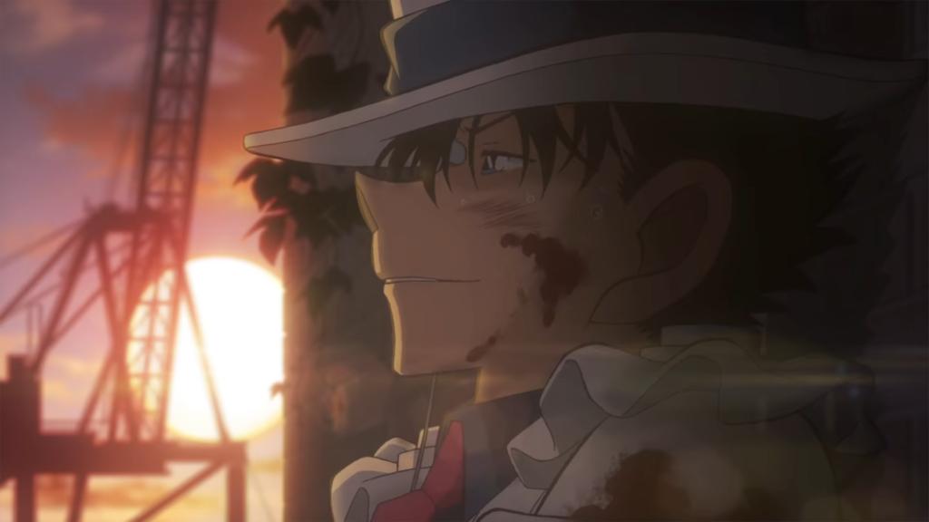 Kaito Kid at sunset
