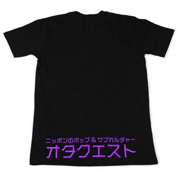 Black Logo T-shirt Back