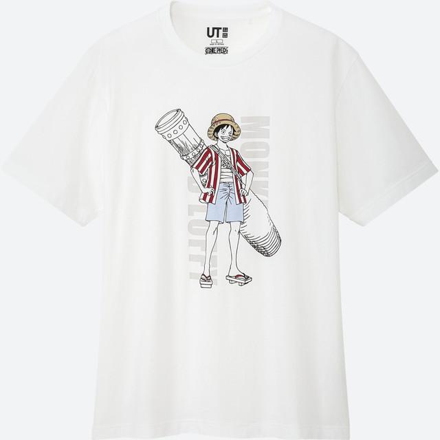 One Piece Stampede Uniqlo Luffy Shirt