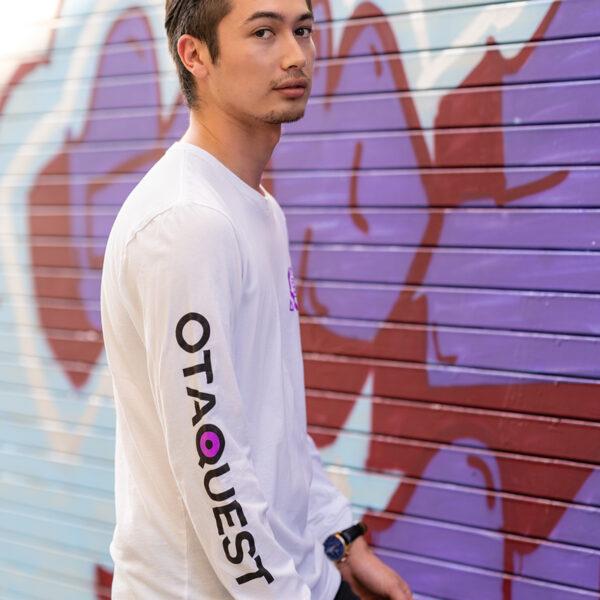 Model Wears Long Sleeve Shirt