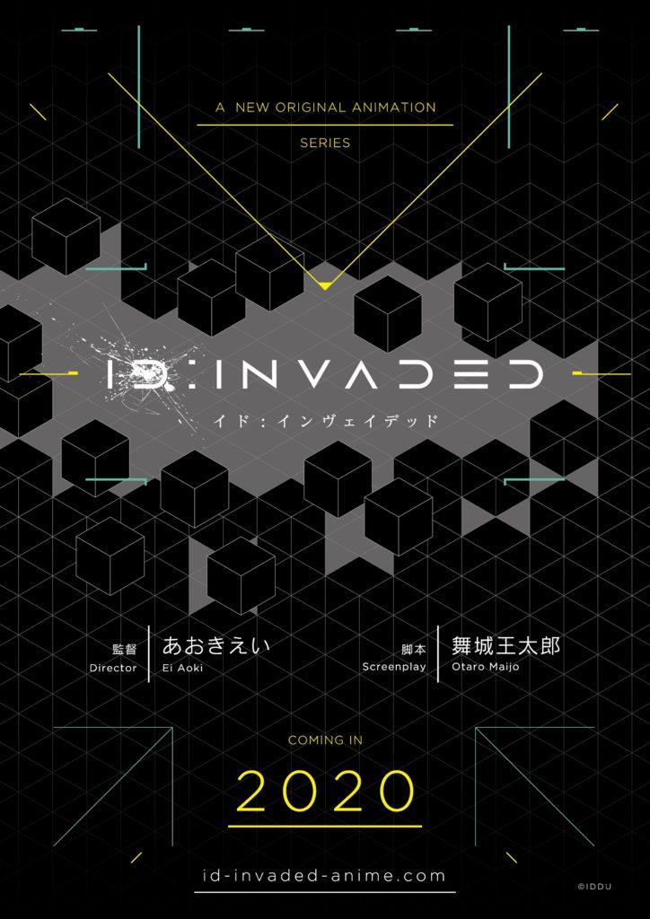 'Fate/Zero' Director Ei Aoki Reveals 'ID: INVADED' Original Anime Project for 2020 Release