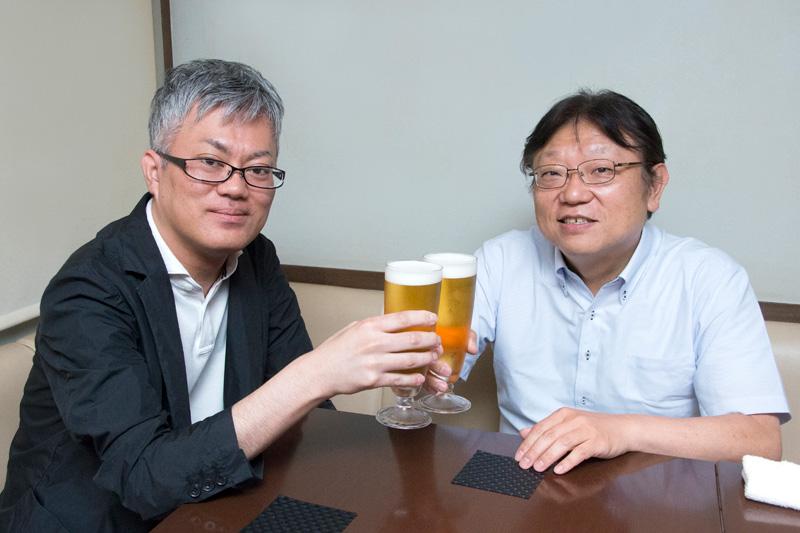 Couple of Cold Ones: Takafumi Sawa and Takekawa Shingo on Weekly Shonen Champion 50th in New Interview
