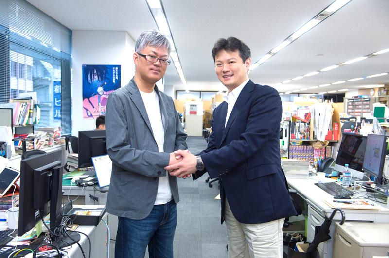 Hiroyuki Nakano and Takekawa Shingo interview