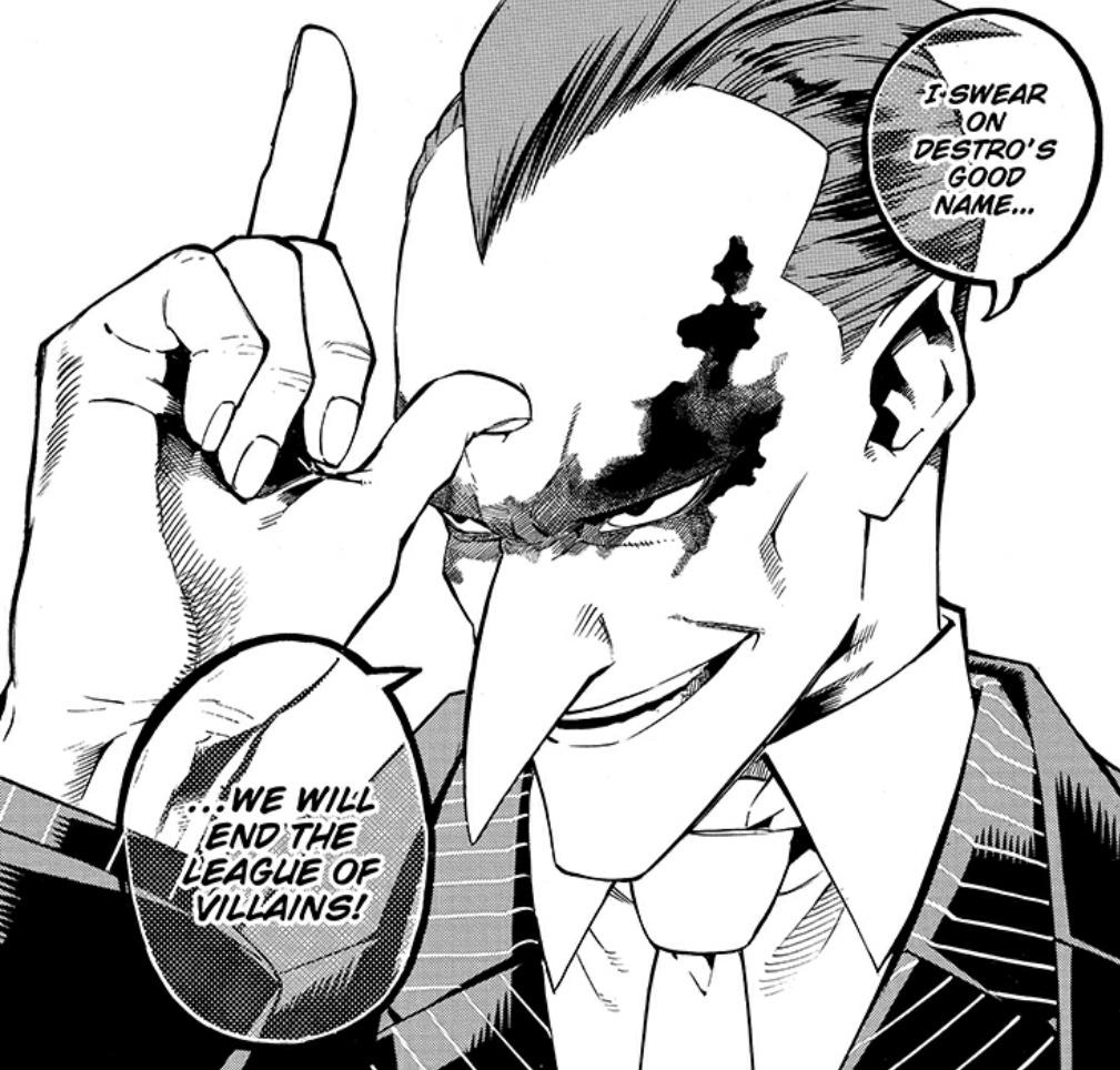 My Villain Academia My Hero Academia manga page