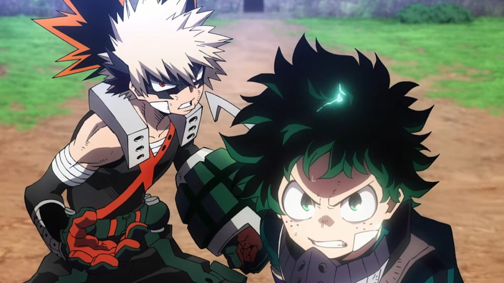 First 'My Hero Academia: Heroes Rising' Trailer Previews Final Battle, New Villain 'Nine'