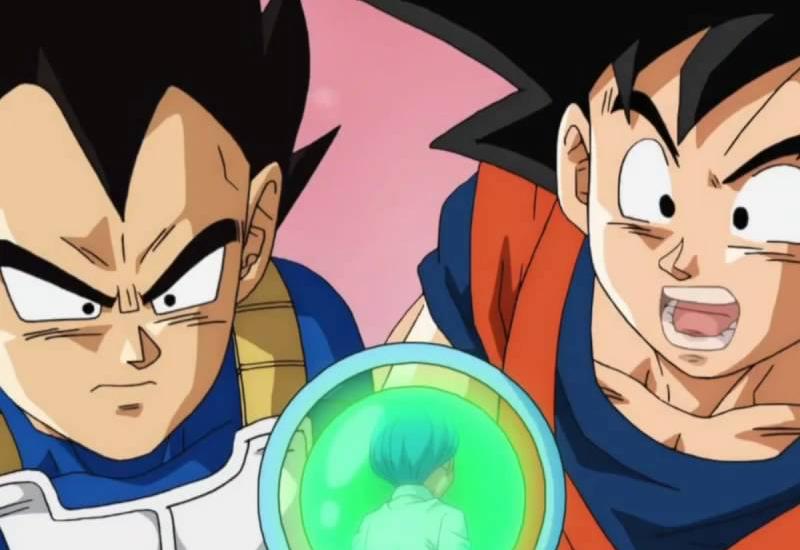 Goku and Vegeta Dads
