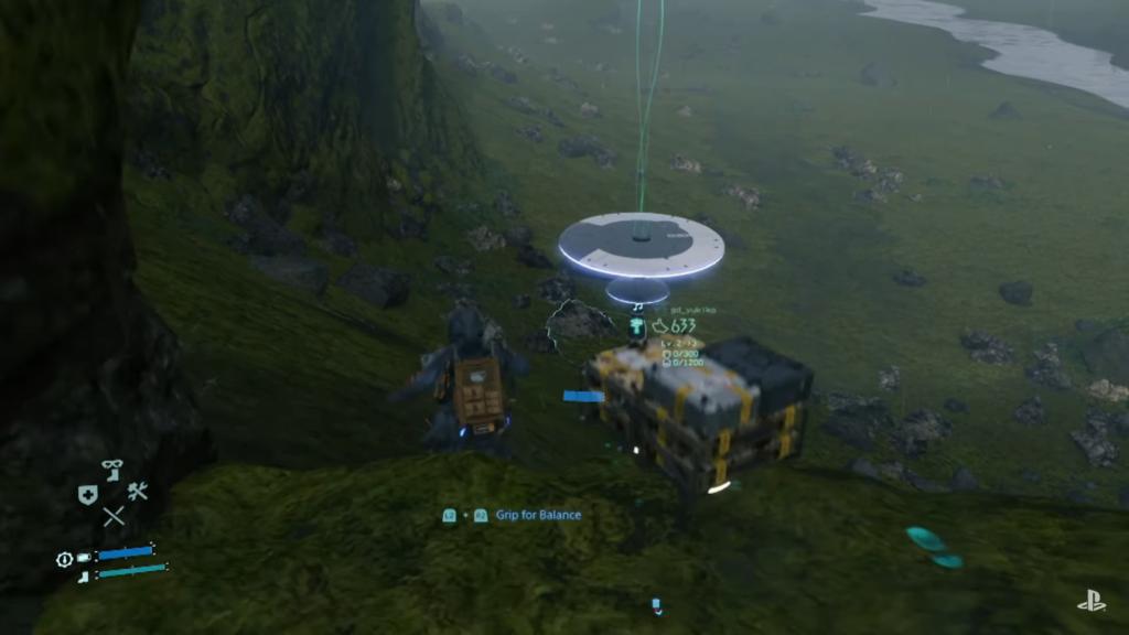 Death Stranding gameplay demo