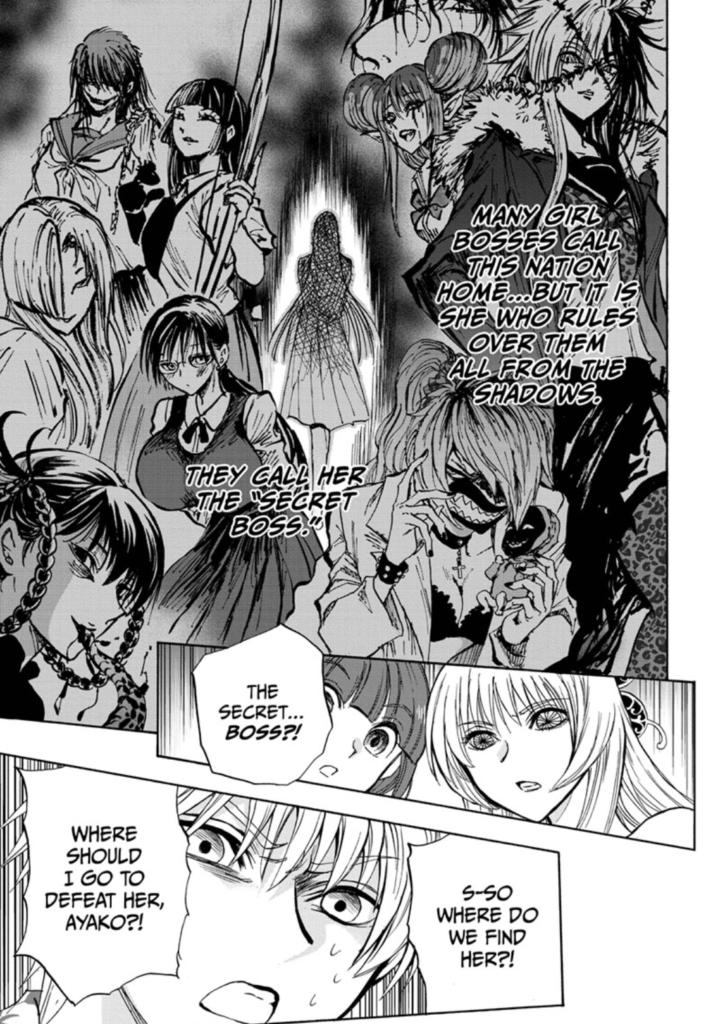 Yui Kamio Lets Loose manga page