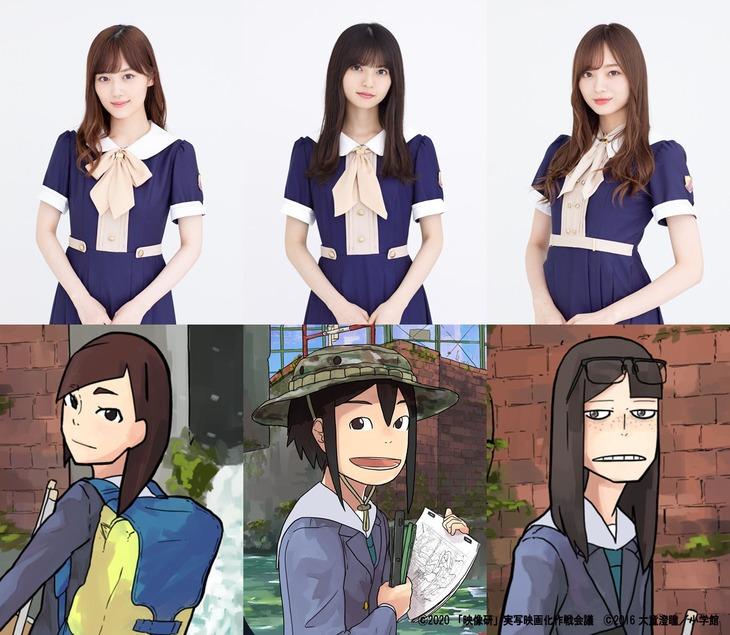 Eizouken live-action cast
