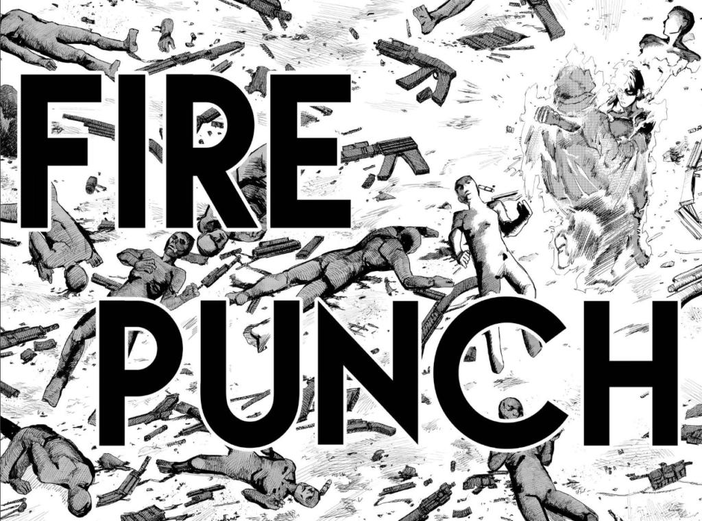 Fire Punch manga page