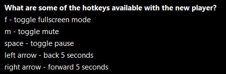 Crunchyroll keyboard shortcuts