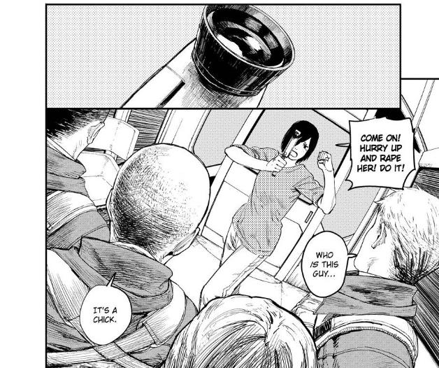 Togata from manga Fire Punch