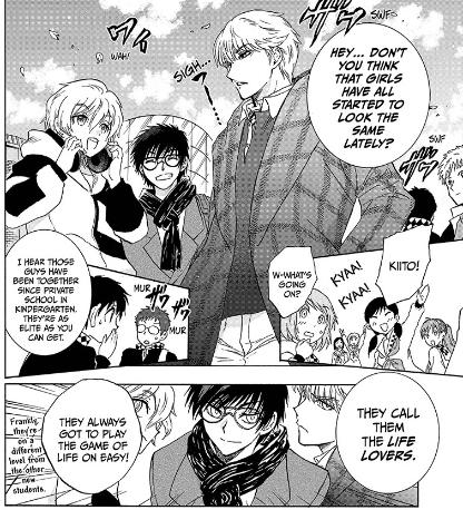 Life Lovers   Yui Kamio Lets Loose Manga Page