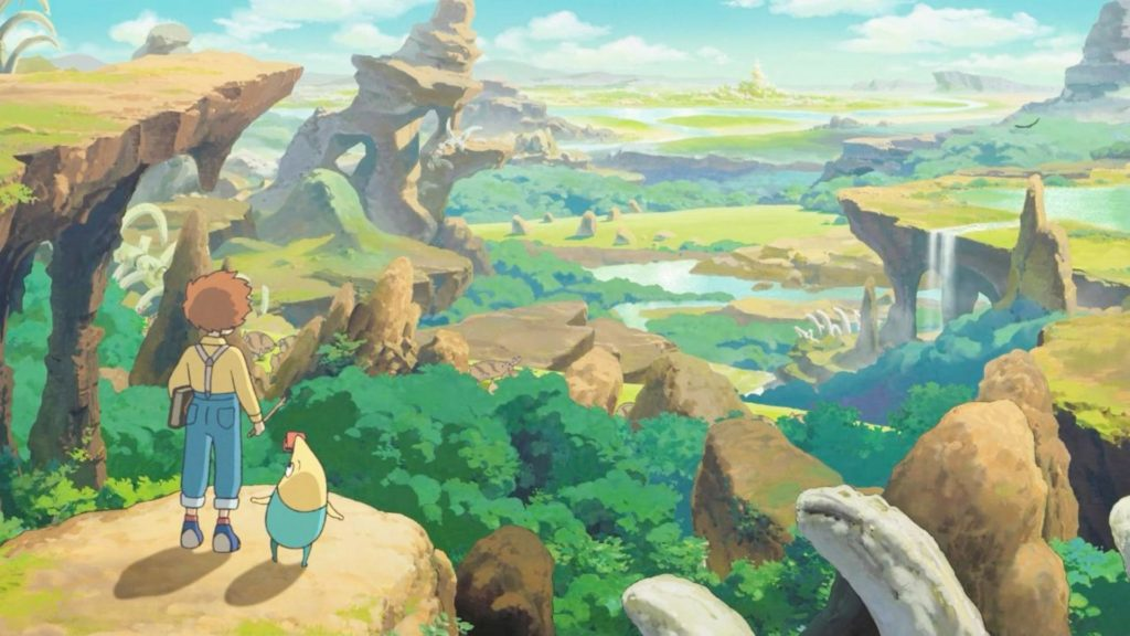 Ni No Kuni Mobile MMORPG Announced in Collaboration with Netmarble