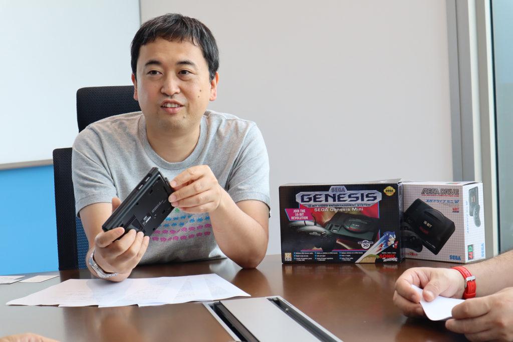 Mega Drive Mini Interview