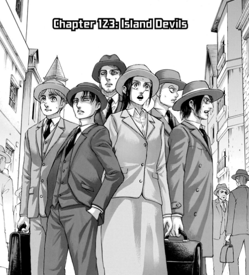 Attack on Titan chapter 123