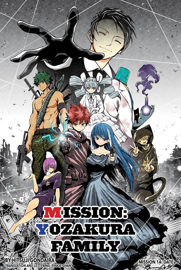 Mission: Yozakura Family chapter 14