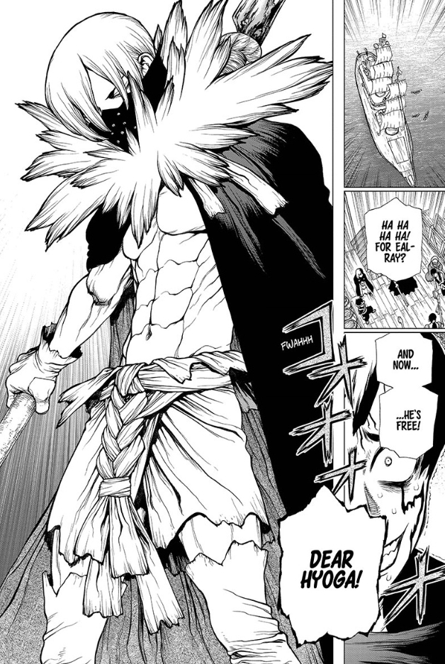 Dr. STONE chapter 130