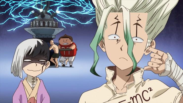 Dr STONE anime
