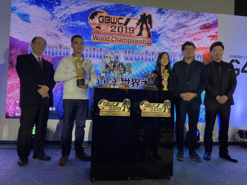 Gunpla Builders World Championship Winners