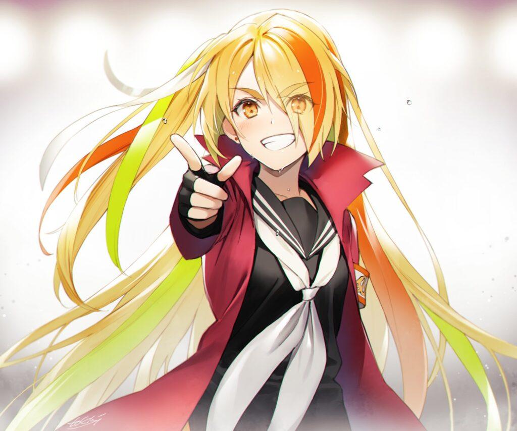 Nikaidou Saki from anime Zombieland Saga