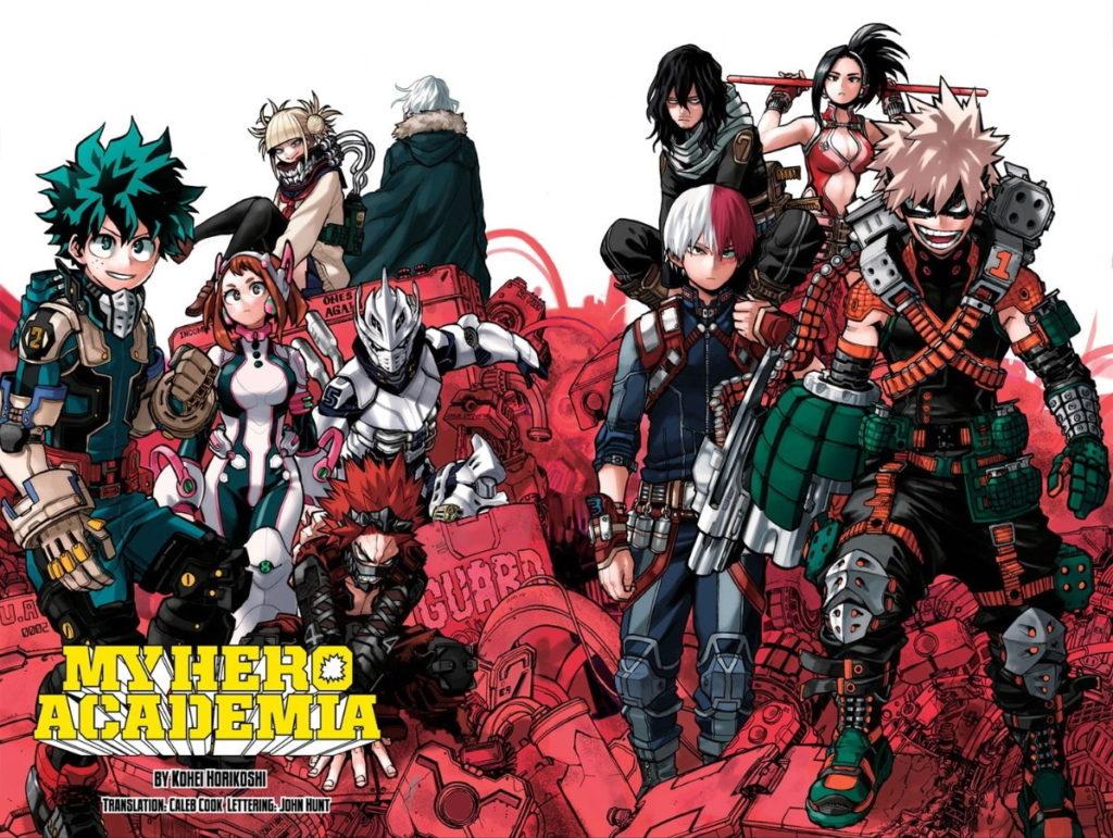 My Hero Academia chapter 254
